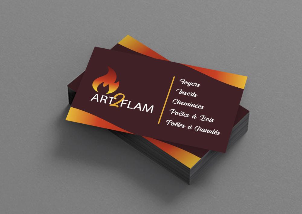 ART2FLAM – CARTES DE VISITE