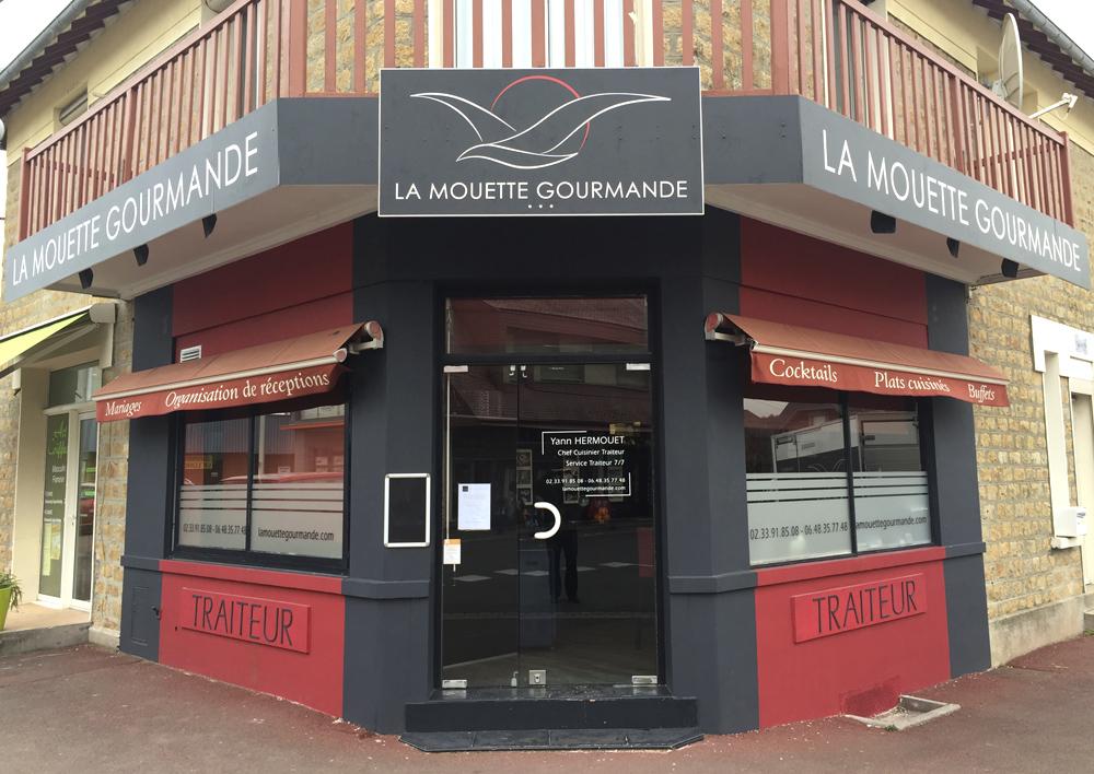 LA MOUETTE GOURMANDE – FACADE